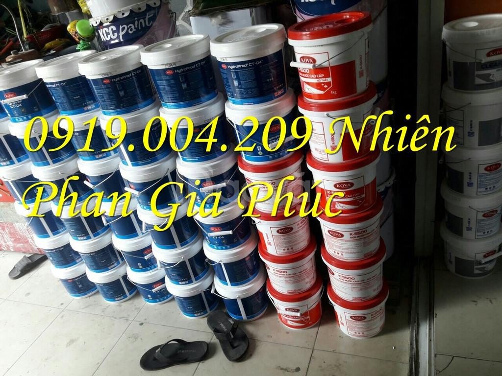 Sơn nước KOVA mịn sáng bóng K260 giá rẻ cho mọi công trình
