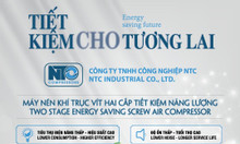 Máy nén khí trục vít biến tần NTC