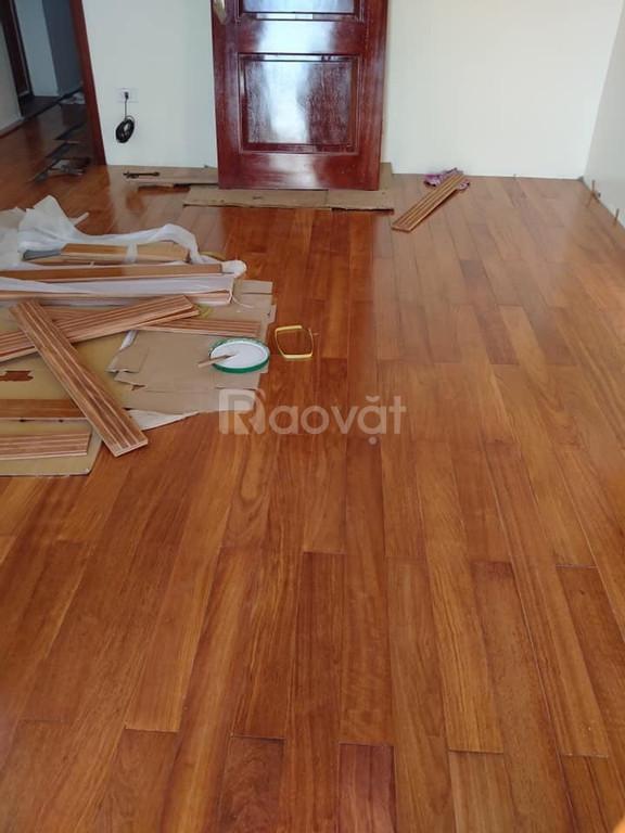 Chuyên nhận tư vấn và lắp đặt thiết sàn gỗ tự nhiên