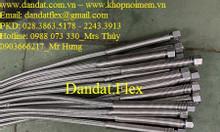 Dây nối mềm inox, ống nối mềm inox nối ren, khớp nối mềm inox lắp ren
