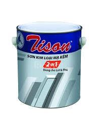 Tìm đối tác phân phối sơn Tison cho kim loại mạ kẽm màu xám chính hãng