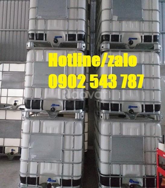 Đơn vị nhập khẩu tank nhựa 1000l, tank ibc 1000l mới 100%