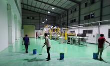 Sơn Epoxy kháng hóa chất cho máy móc nhà xưởng tại khu công nghiệp
