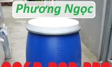 Thùng phuy nhựa HDPE nắp mở, thùng phuy đựng hóa chất