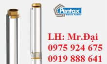 Bơm chìm giếng khoan Pentax 4S24-34, 4s24-26, 4s24-14