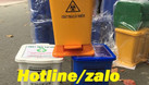 Thùng rác y tế 15l màu vàng (ảnh 4)