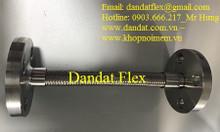 Ống nhún inox 114, khớp nối chống rung mặt bích, ống nối mềm inox