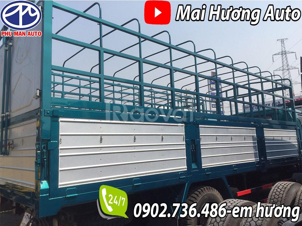 Xe tải 7 tấn thùng chở phế liệu bao bì giấy pallet-ga cơ đời 2016
