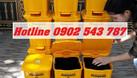 Thùng rác y tế 15l màu vàng (ảnh 6)