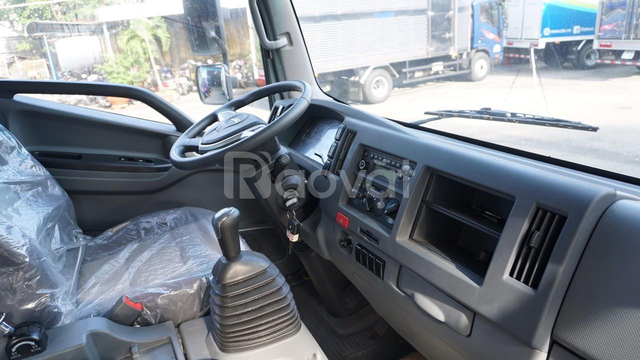 Xe tải jac 6.5 tấn động cơ cummin-jac N650 thùng 6m2