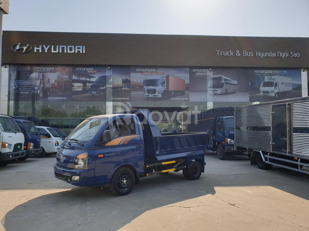 Xe tải Ben Hyundai 2019 1.5 tấn H150 xe sẵn giao ngay