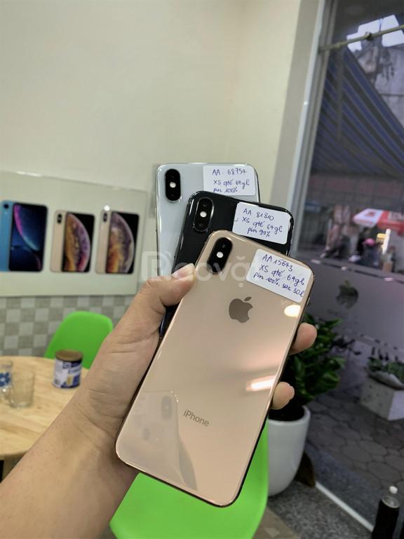 Điện thoại iPhone XS 64gb, pin 93-100%, như mới