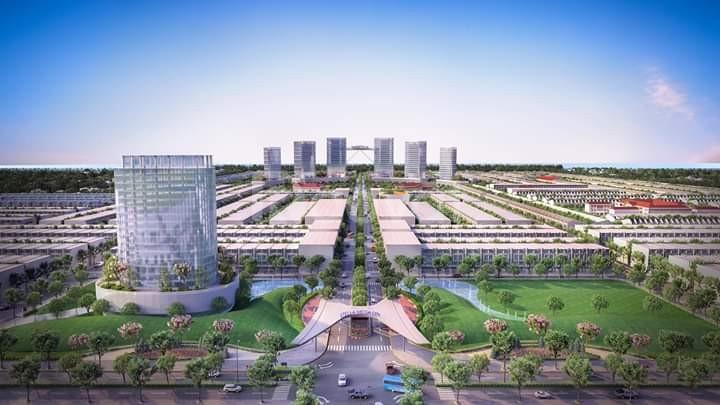 Đất nền trung tâm, cách sân bay quốc tế 2.5km