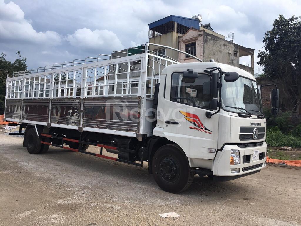 Xe 2 chân B180 Dongfeng thùng mui bạt 9,5m tại Hà Nội giá bao nhiêu
