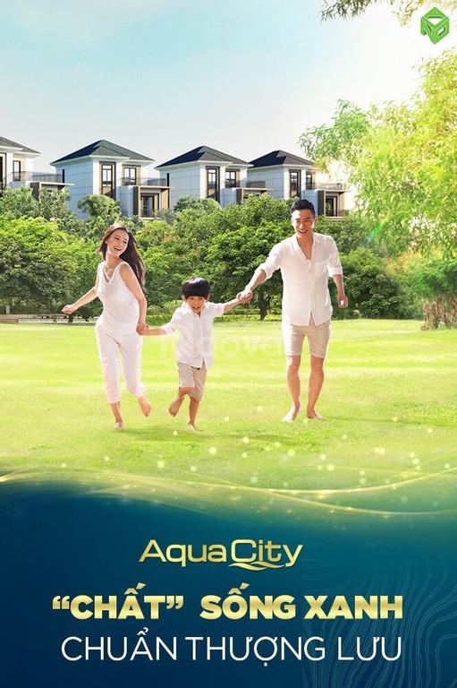 Nhà phố, shophouse Aqua City, cam kết mua lại 15%/năm , chỉ đóng 50%.