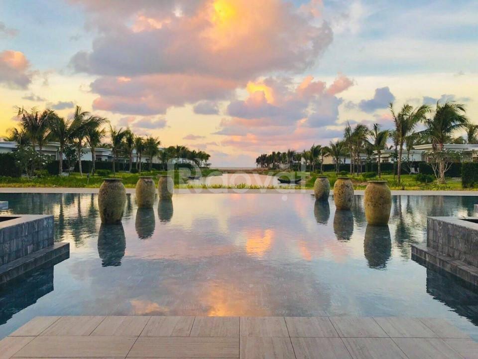 Bán biệt thự mặt biển, shop villa mặt tiền biển Melia The Hamptons
