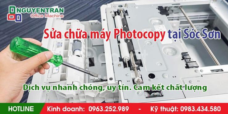 Sửa máy photocopy tại Sóc Sơn, nhanh chóng, giá rẻ