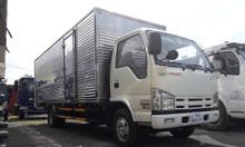 Giá xe tải isuzu 1.9 tấn thùng 6.2 mét chở pallet hỗ trợ trả góp