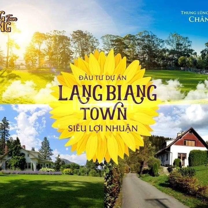 Đất nền biệt thự nghỉ dưỡng  Langbiang Town  Đà Lạt