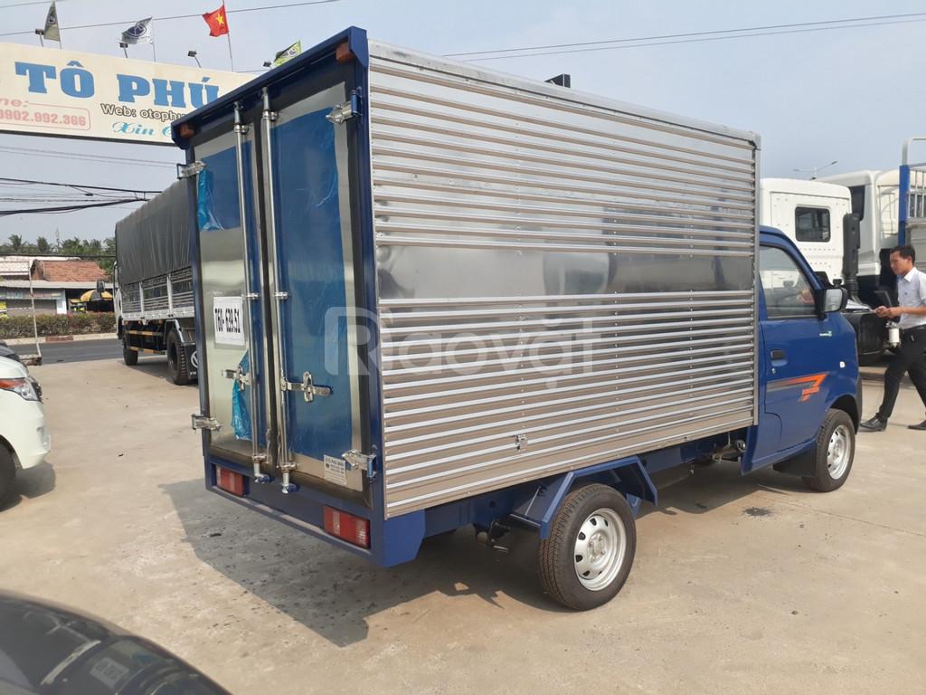 Giá xe tải 1 tấn   xe dongben 2020 : dongben 1021 thùng - 990kg-810kg