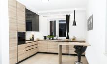 Tủ bếp gỗ công nghiệp - Đóng tủ bếp theo yêu cầu