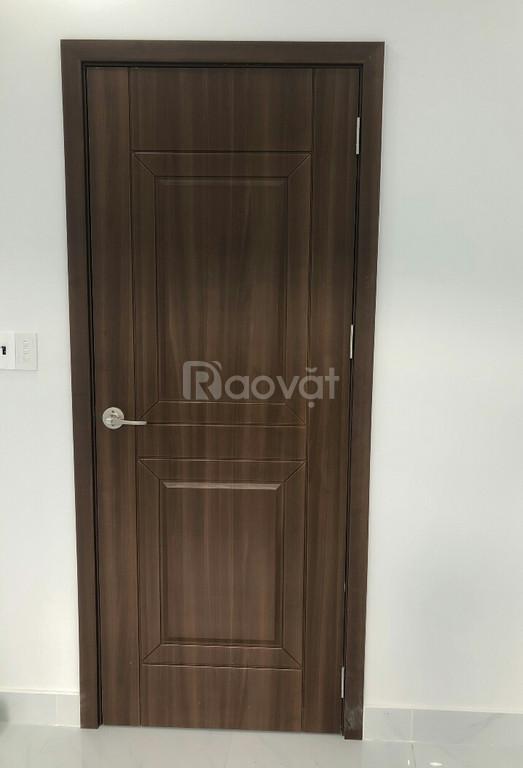 Cửa nhựa ABS Hàn Quốc cao cấp, cửa nhựa giả gỗ giá rẻ Bình Tân