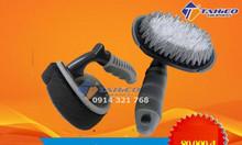 Combo bàn chải cọ rửa lốp- bàn chải quét dung dịch đánh bóng