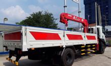 isuzu 6.5 tấn, cẩu Unic V635