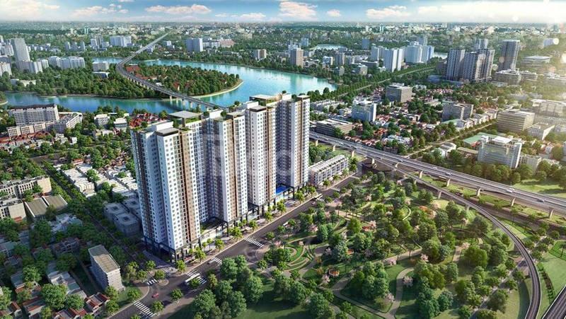 Bán suất ngoại giao Phương Đông Green Park Hoàng Mai