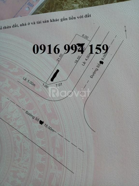 Bán đất hẻm ô tô đường Nguyễn Thông 84m2 nở hậu