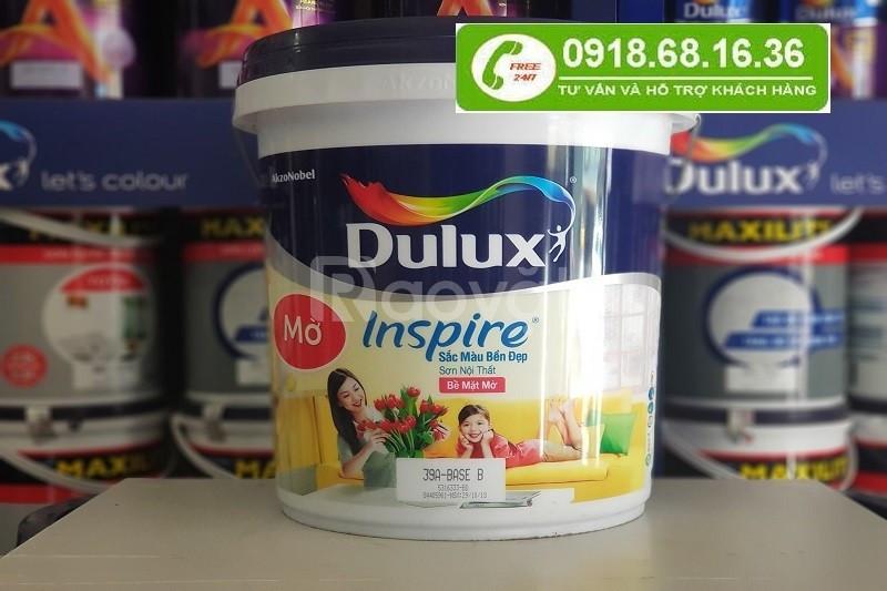 Cần mua sơn nước dulux inspire trong nhà lon 5l  tại quận Tân Bình