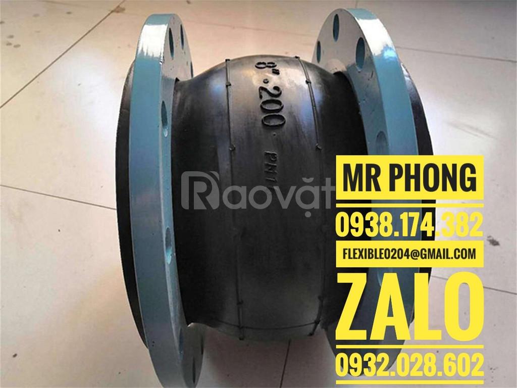 Báo giá khớp nối mềm inox nối bích - Giá Khớp nối mềm inox 304