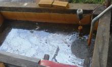 Thau rửa bể nước sạch tại phường Nhật Tân, quận Tây Hồ