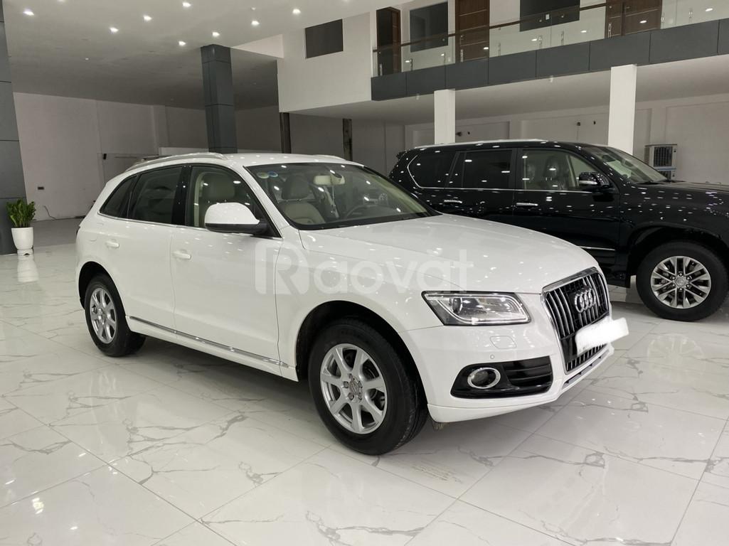 Bán Audi Q5 2.0,model và đăng ký 2014,xe đẹp,biển đẹp,giá tốt.