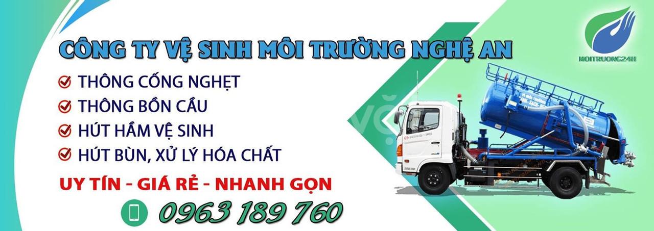 Thông tắc cống giá rẻ 100k tại tp Vinh Nghệ An