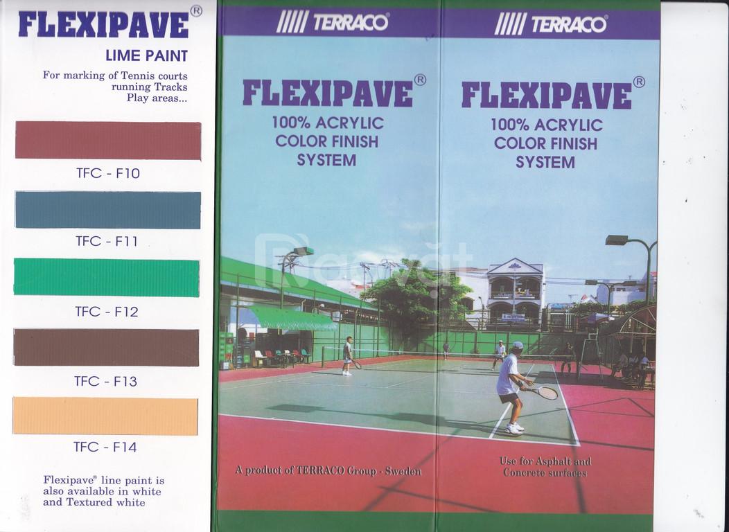 Tìm bảng màu sơn sân tennis Terraco cho công trình mới nhất 2020