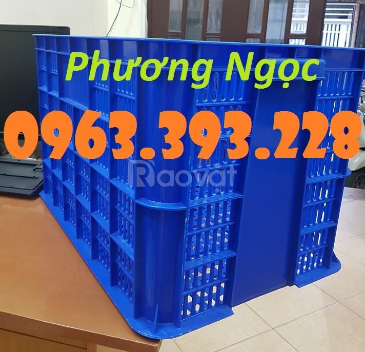 Sọt nhựa công nghiệp, sọt rỗng cao 39, sóng nhựa HS005