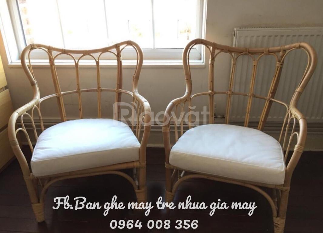 Bàn ghế, sofa mây hiện đại