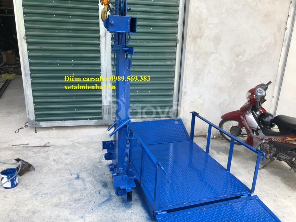 Vận thăng nâng hàng 500kg, vận thăng nâng hàng