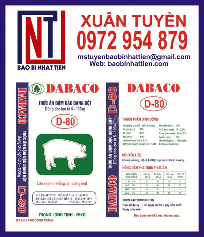 Bao bì đựng thức ăn gia súc giá rẻ
