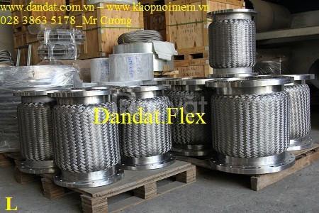 Khớp nối mềm inox các loại, báo giá khớp nối mềm inox chịu nhiệt cao