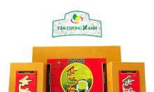 Bộ trà Tân Cương hộp Long Việt - 400G