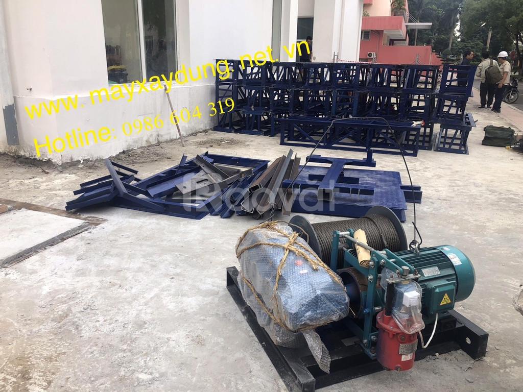 Vận thăng nâng hàng 500kg giá tốt khu vực Hà Nội
