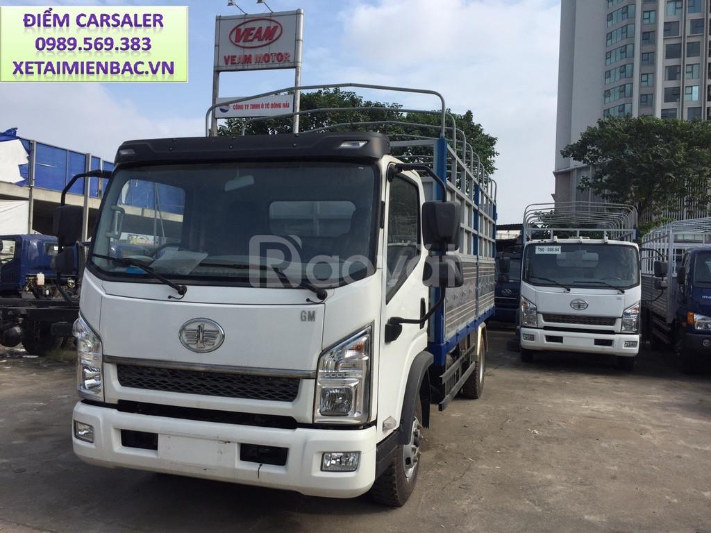 Xe tải faw 7.25 tấn thùng 6m3