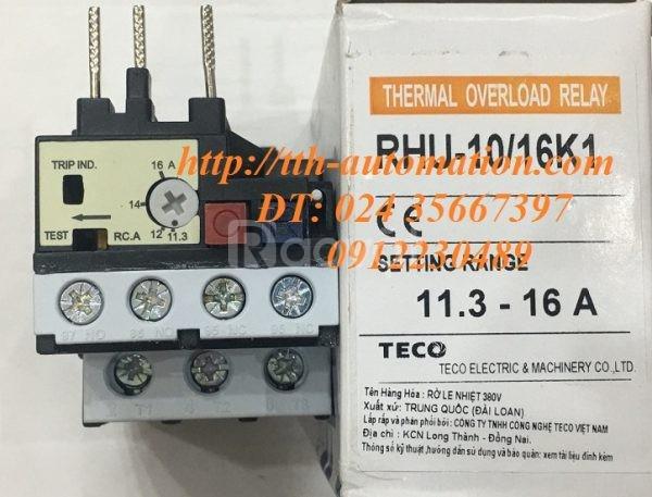 Rơ le nhiệt Teco RHU-10/21,5K1