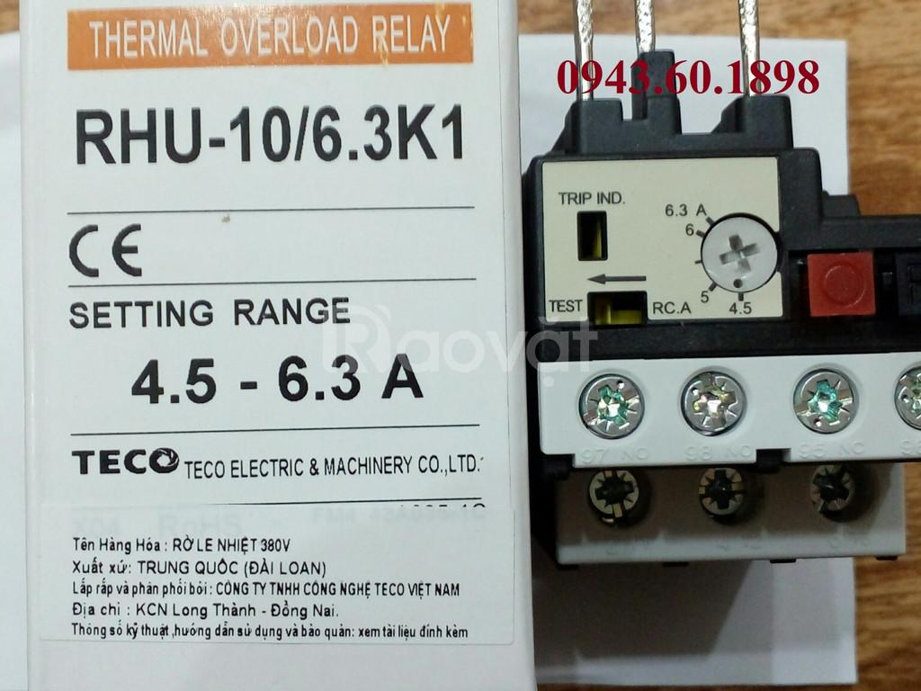 Rơ le nhiệt Teco RHU-10/6.3K1