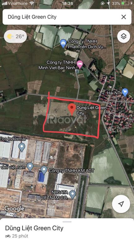 Đất nền tại khu công nghiệp Yên Phong mở rộng