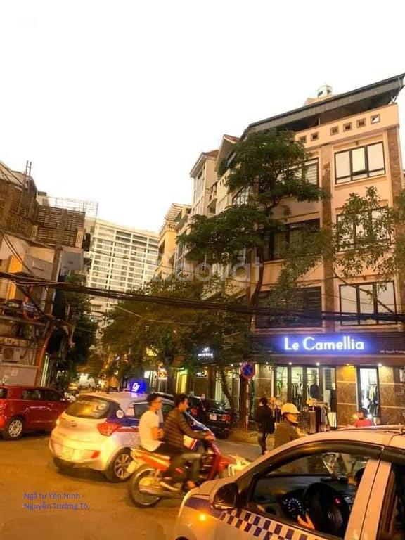 Bán nhà mặt phố Yên Ninh Ba Đình 65m mặt tiền 5m mặt phố kinh doanh