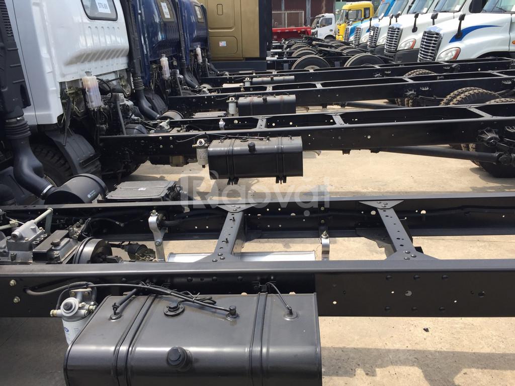 Xe tải 7.3 tấn giá rẻ bình dương +thùng dài 6m2 +động cơ hyundai