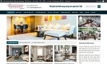 Thiết kế web cho cửa hàng nội thất tại cần thơ